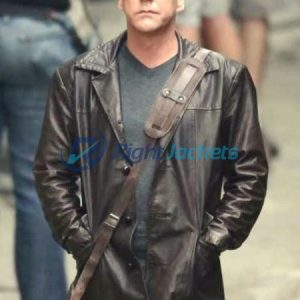 Jack Bauer 24 Series Brown Stylish Leather Jacket