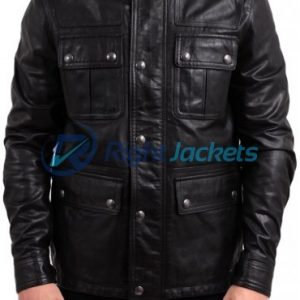 Jack Bauer24 Live Another Day Leather Jacket