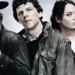 Jesse Eisenberg Columbus Zombieland Double Tap Leather Jacket