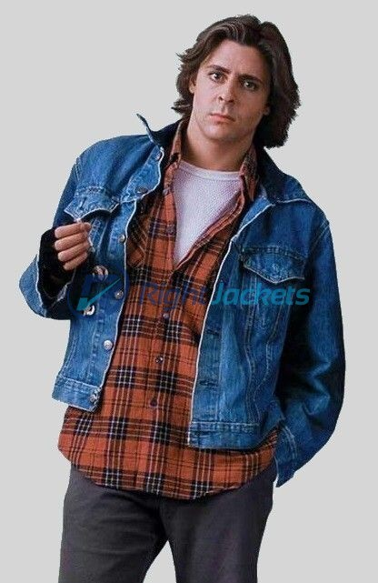 Judd Nelson Breakfast John Bender Club Blue Denim Jacket