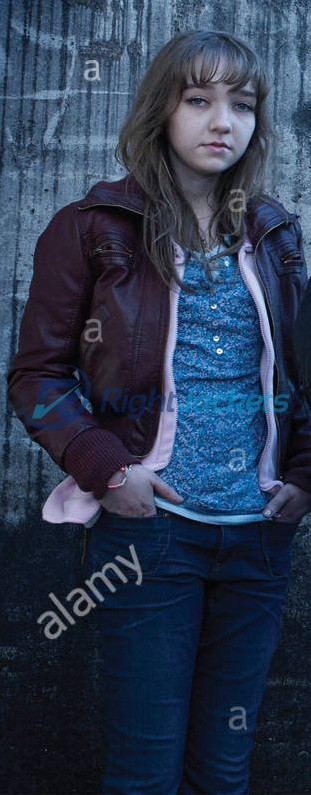 Julia Sarah The Killing Brown Custom Leather Jacket