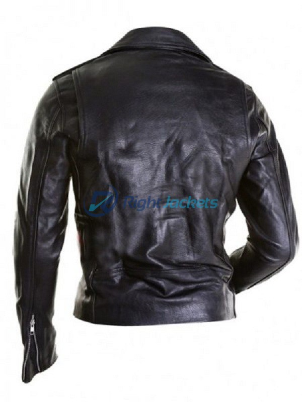 Justin Bieber All Around The World Black Leather Jacket