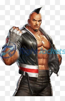 King Of Fighter Heavy D Stylish Leather Jacket