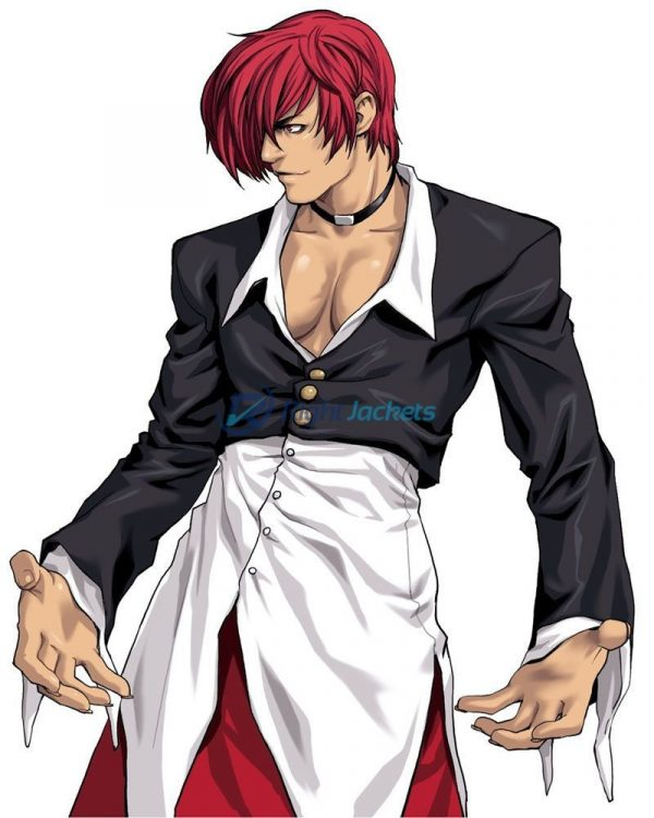 King Of Fighters Iori Stylish Leather Jacket