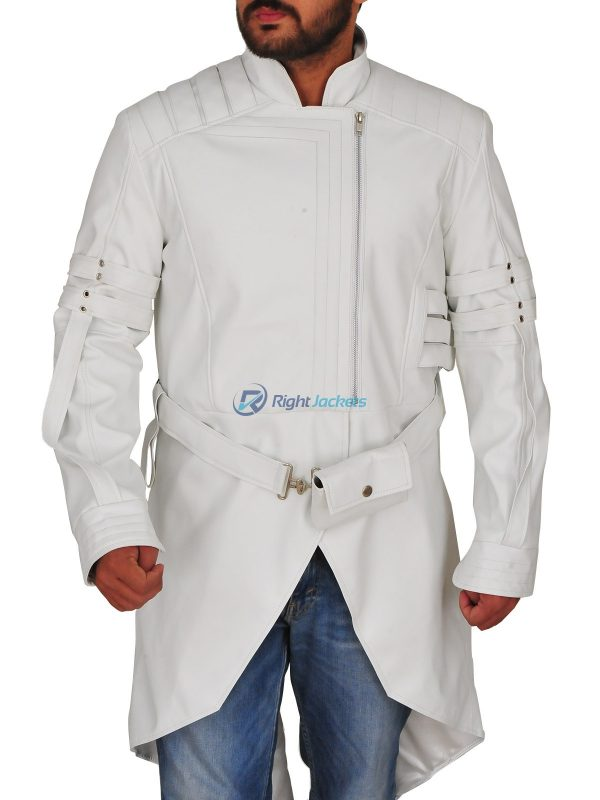 Lee Byung hun G.I Joe Retaliation White Leather Coat