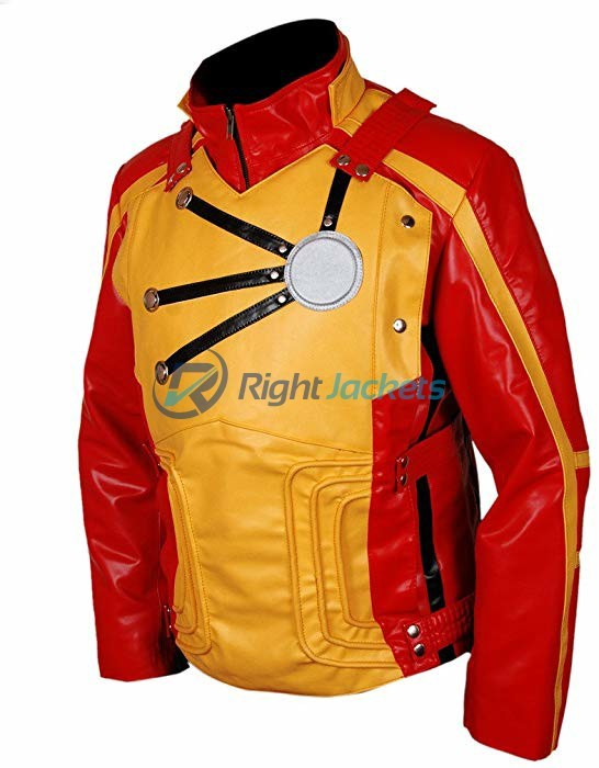 Legends of Tomorrow Tv Series Firestorm Red And Yellow Leather Jacket