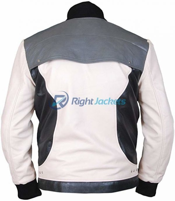 Matthew Broderick Ferris Bueller Black And White Leather jacket
