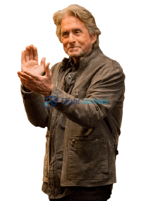 Michael Douglas The Kominsky Method Sandy Kominsky Grey Jacket