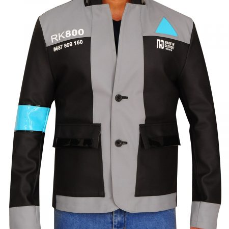 RK800 Detroit Become Human Cosplay Jacket