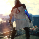 Devil May Cry 5 Nero Assassins Creed Reskin Mod Red And White With Logo In Back Coat Jacket