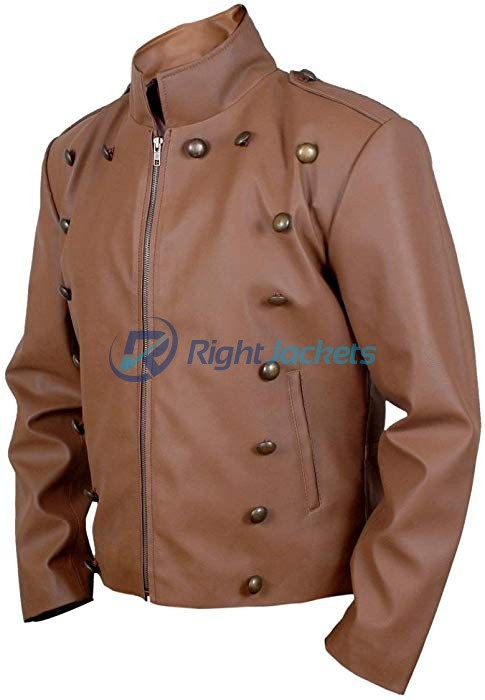 Rocketeer Cliff Secord Brown Leather Jacket