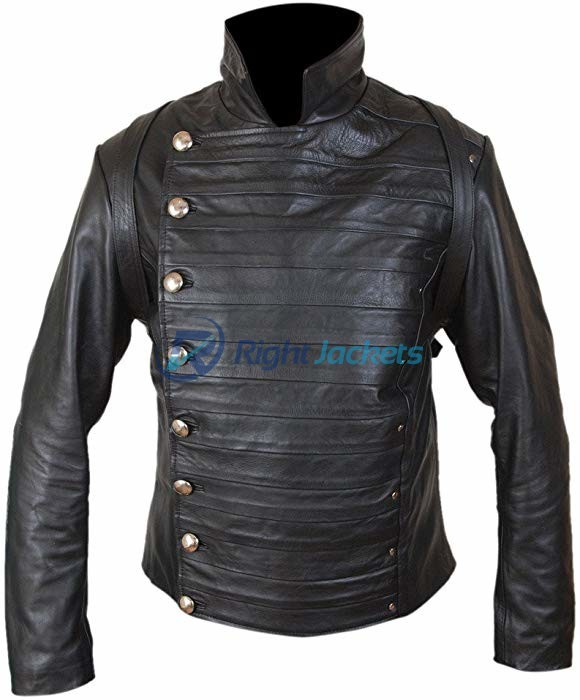 Rodrigo Santoro Hector Escaton Westworld Black Leather Jacket