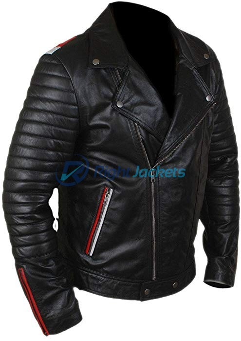 Ryan Gosling Blue Valentine Black Faux Leather Jacket
