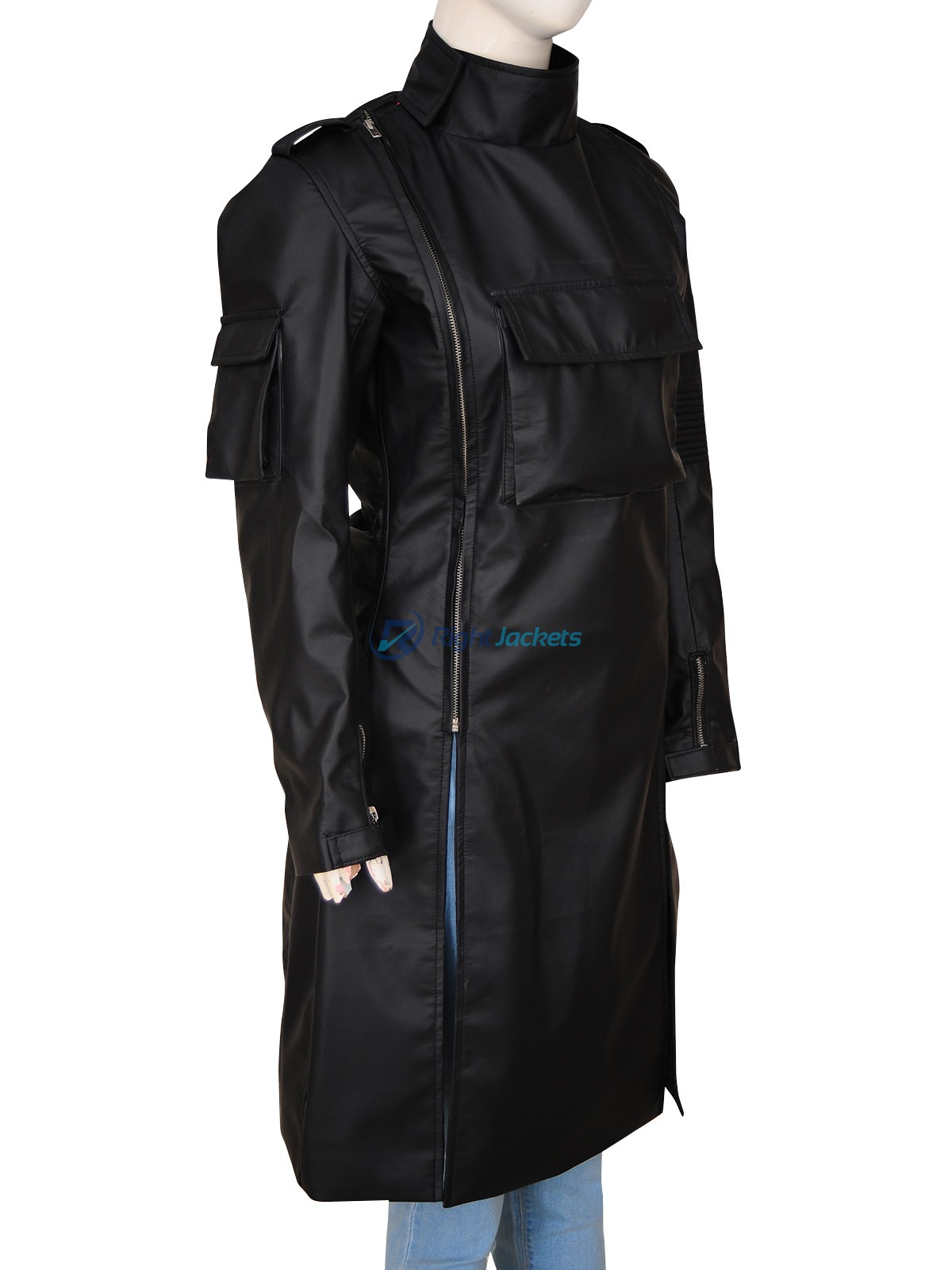 Scarlett Johansson Ghost In The Shell Major Costume Coat Right Jackets