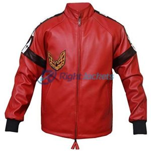 Smokey And The Bandit Out Burt Reynolds Red Leather Jacket