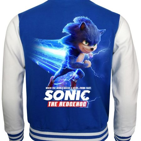 Sonic the Hedgehog Blue Bomber Jacket