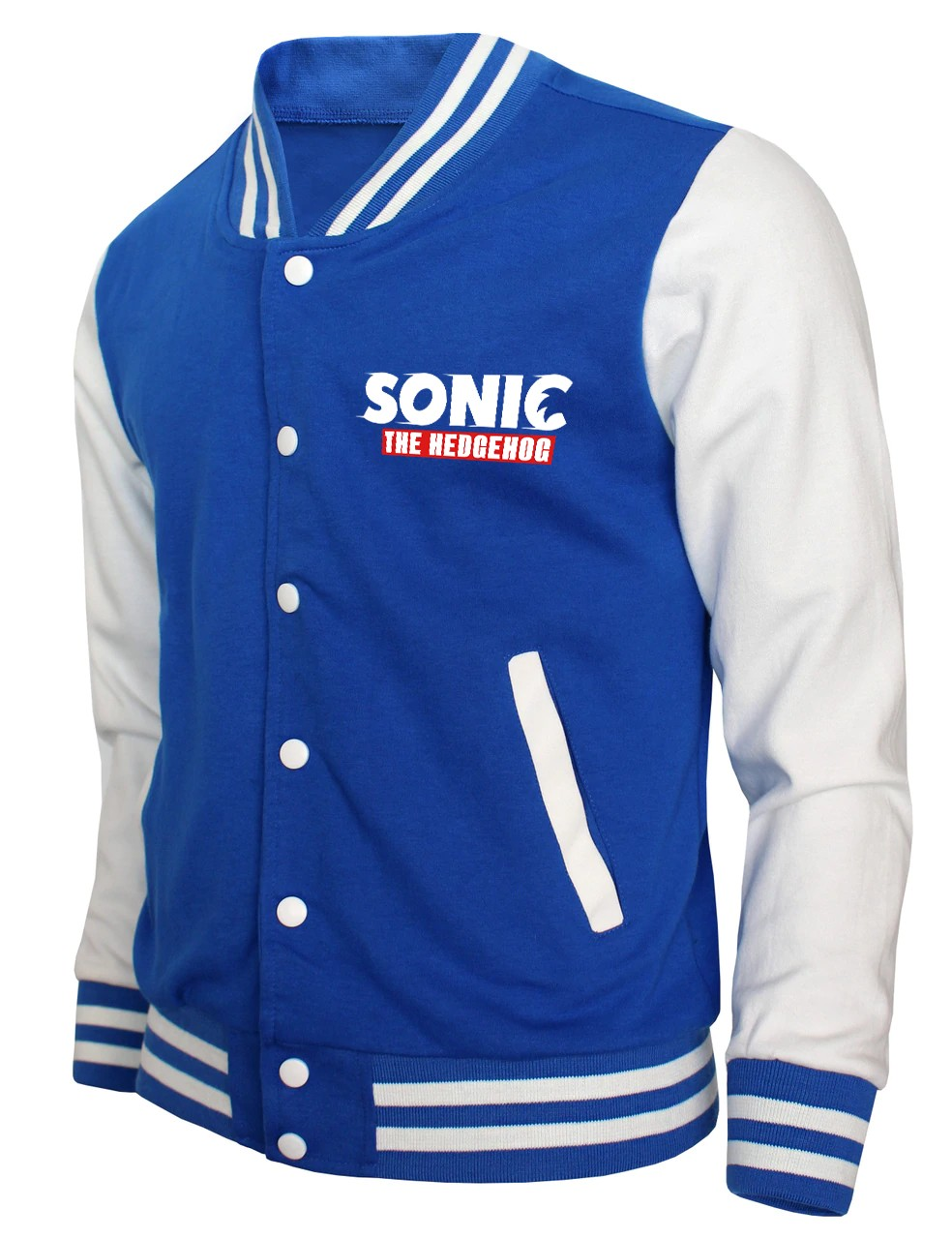 Sonic The Hedgehog Blue Bomber Jacket Right Jackets