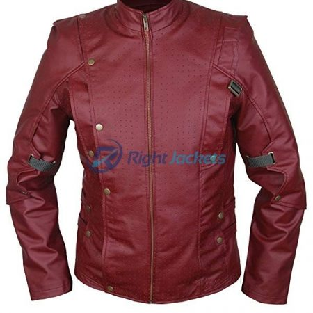 Guardians of the Galaxy Star Lord Brown Leather Jacket