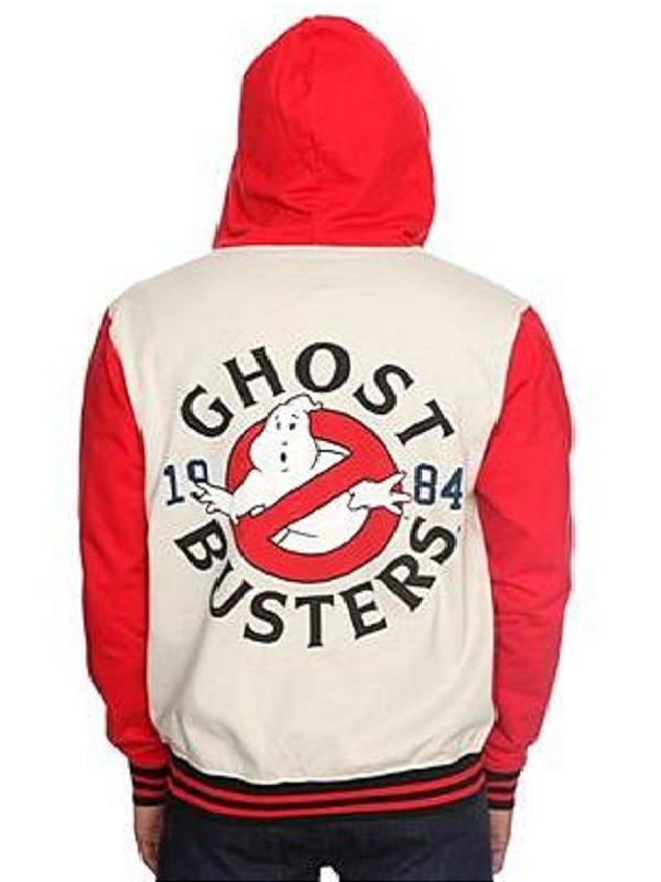 Stylish Ghostbusters Varsity Jacket
