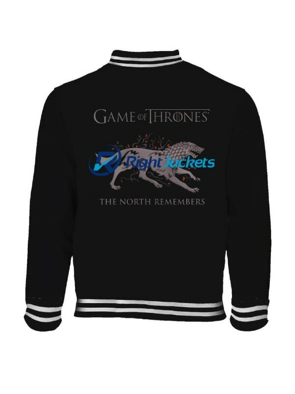 The Last Watch The North Remembers Game Of Thrones Dragon Logo Jacket