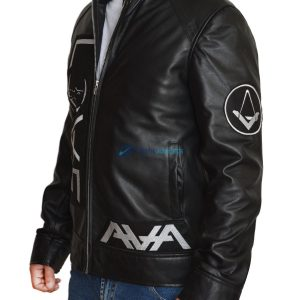 Tom Delonge Angels And Airwaves Black Leather Jacket