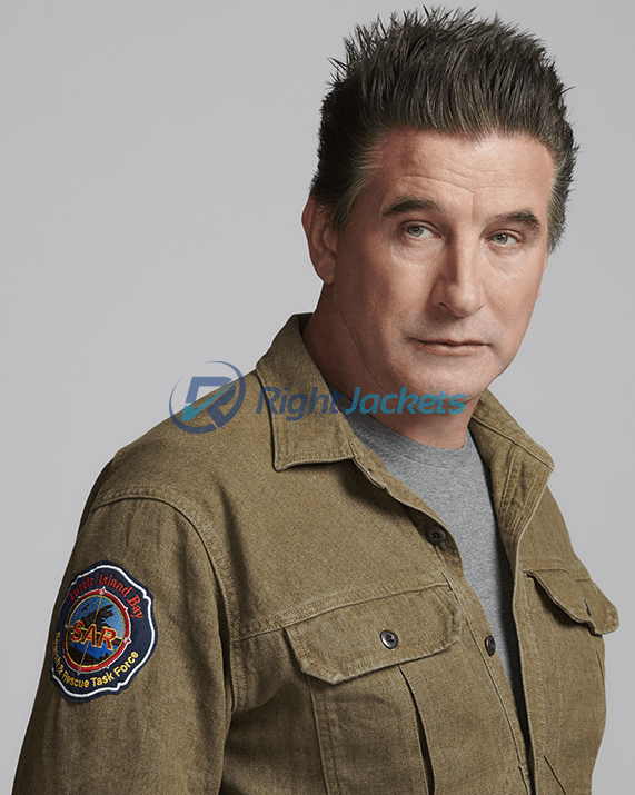 William Baldwin Northern Rescue Cotton Stylish Jacket