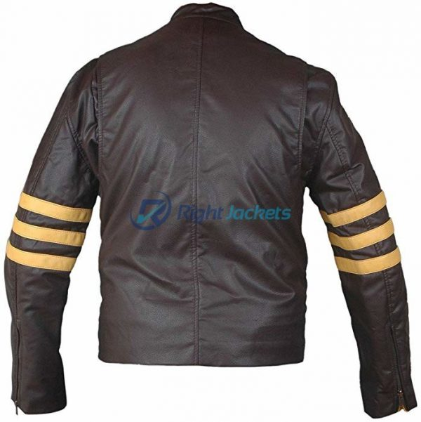 X-Men Origins Wolverine Black Style Leather Jacket