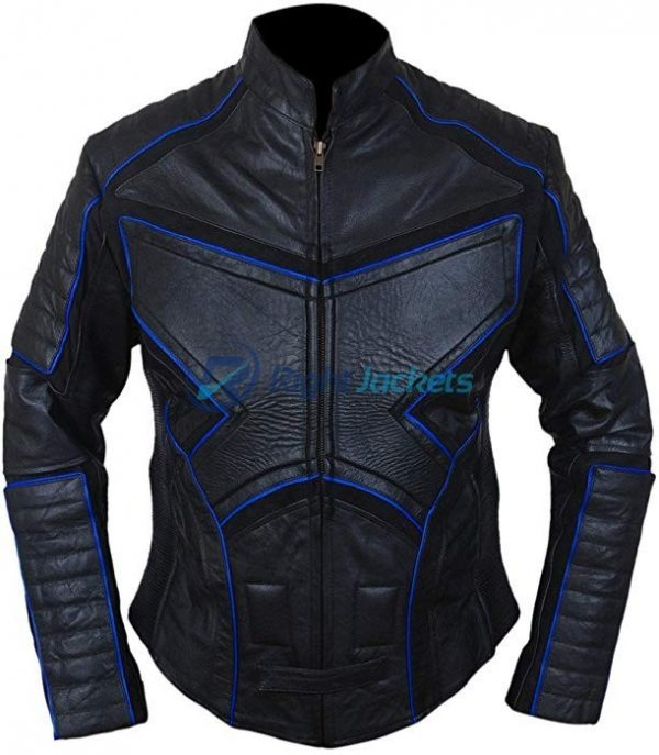 X2 X-Men United Black Biker Leather Jacket