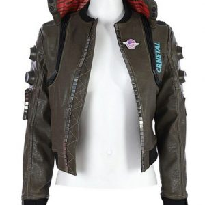 Cyberpunk 2077 Leather Jacket Female