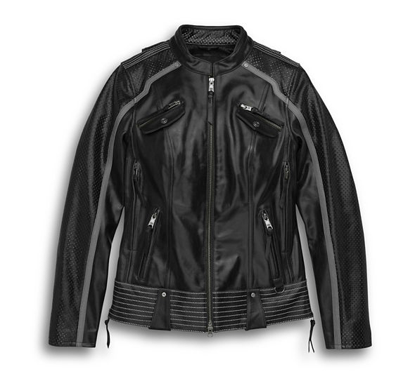 Harley Davidson Hairpin Leather Jacket