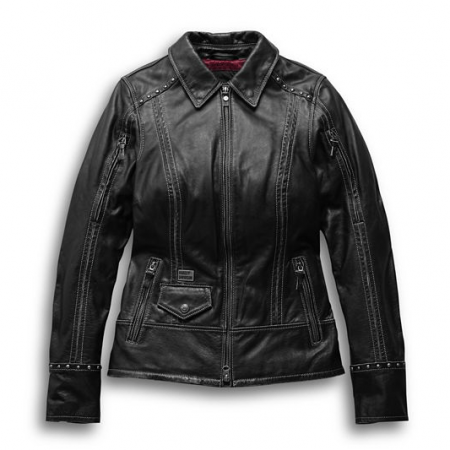 Harley Davidson Intrepidity Leather Jacket