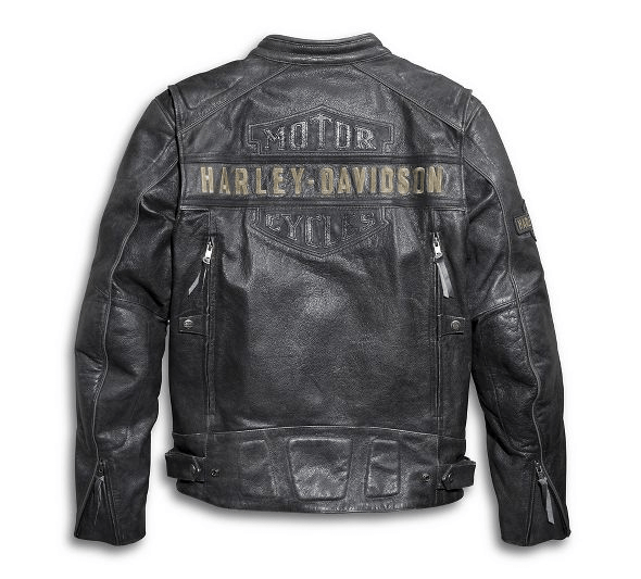 Harley Davidson Passing Link Leather Jacket