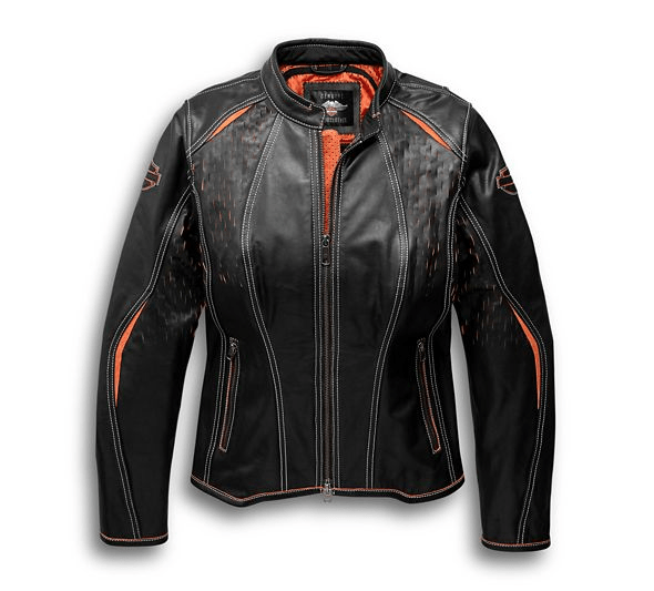 Harley Davidson Perforated Leather Jackit