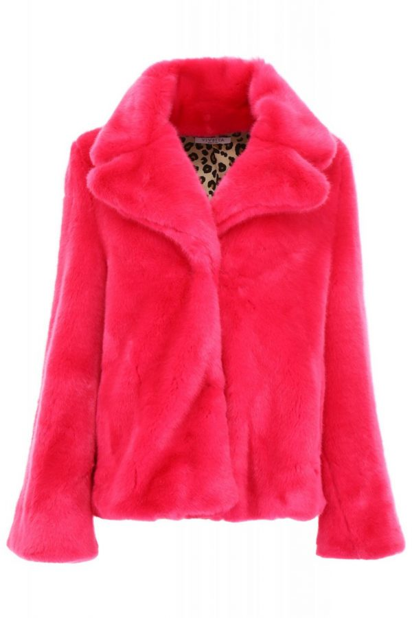 Taylor Swift You Need To Calm Down Pink Fur Coat Jacket