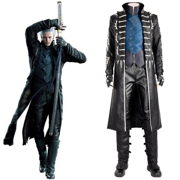 Vergil Devil May Cry 5 Leather Coat