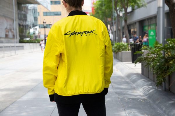 Yellow E3 2019 Cyberpunk 2077 Samurai Yellow Reversible Jacket