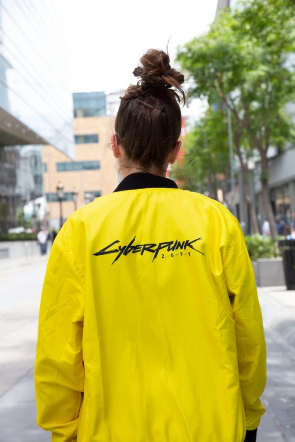 cyberpunk 2077 yellow jacket