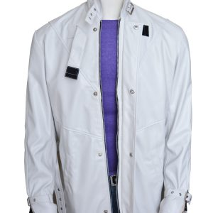 Aiden Pearce Watch Dogs White Leather Coat