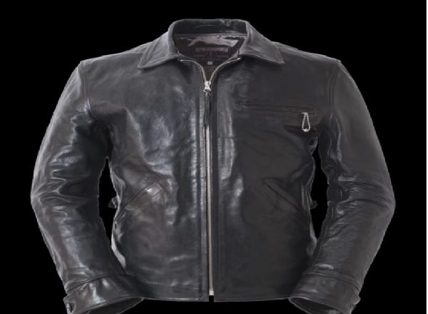 American Clothing Horsehide Black Californian Leather Jackets