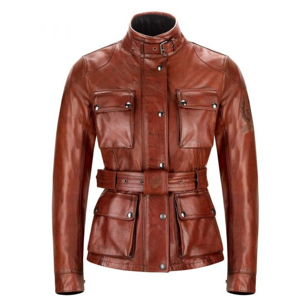 Belstaff Trialmaster Pro Leather Ladies Jacket
