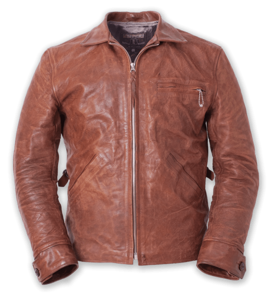 Eastman Clothing Horsehide Californian Leather Jacket