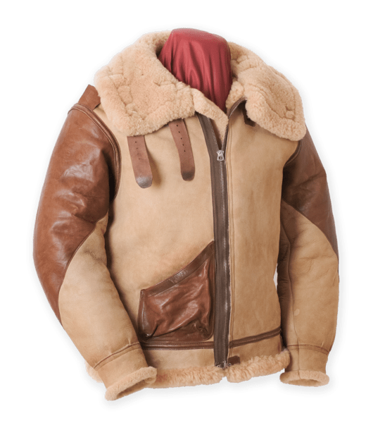 Eastman Horsehide Shearling B-3 Leather Jacket
