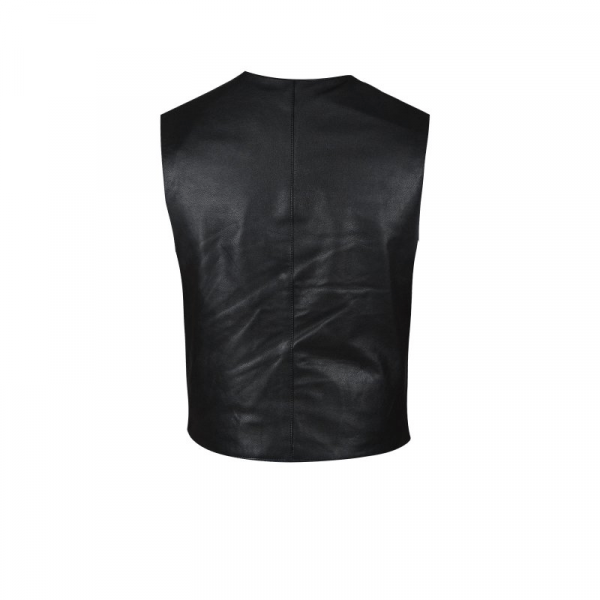 Fast & Furious Presents Hobbs & Shaw Rock Black Leathers Vest