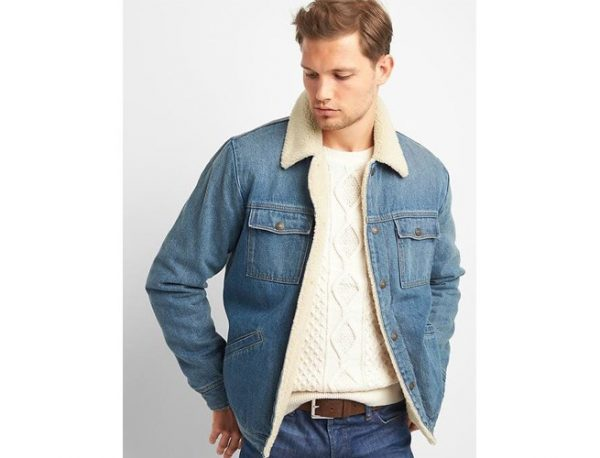 Gap Icon Sherpa Jacket