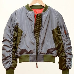 Ghost In The Shell Bomber Cotton Jacket
