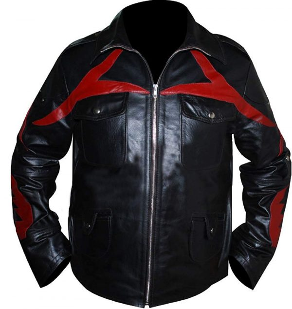 James Heller Alex Mercer Black Genuine Leather Jacket