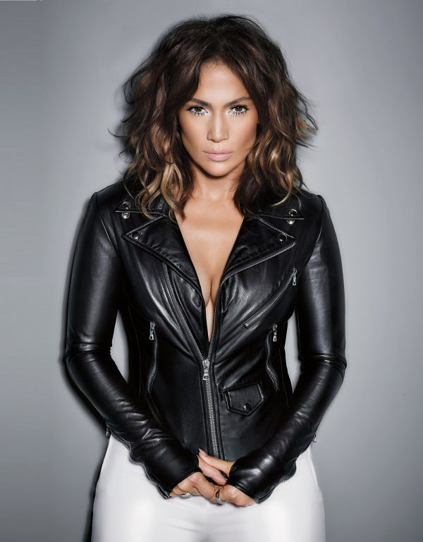 Jennifer Lopez Black Leather Jacket