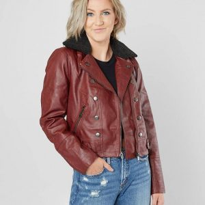 Jolt Fashion Vegan Leather Jacket