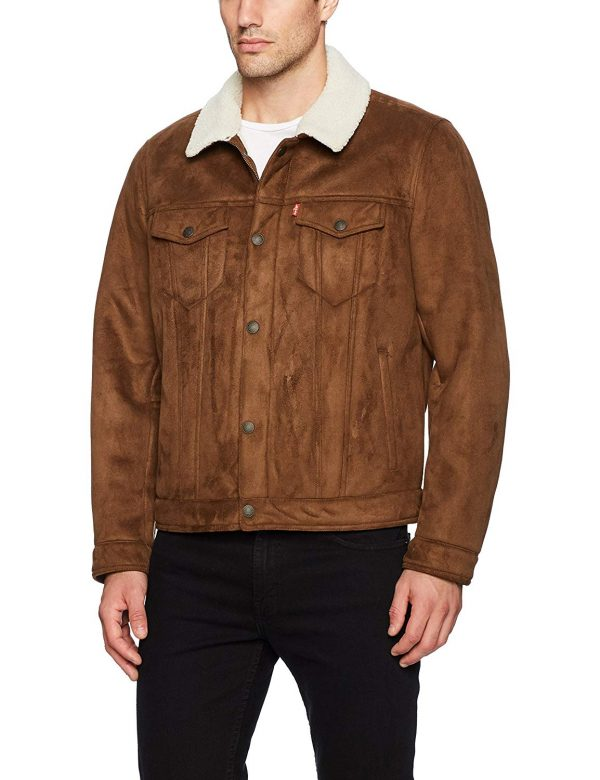 Levi's Vegan Shearling Trucker Jacket