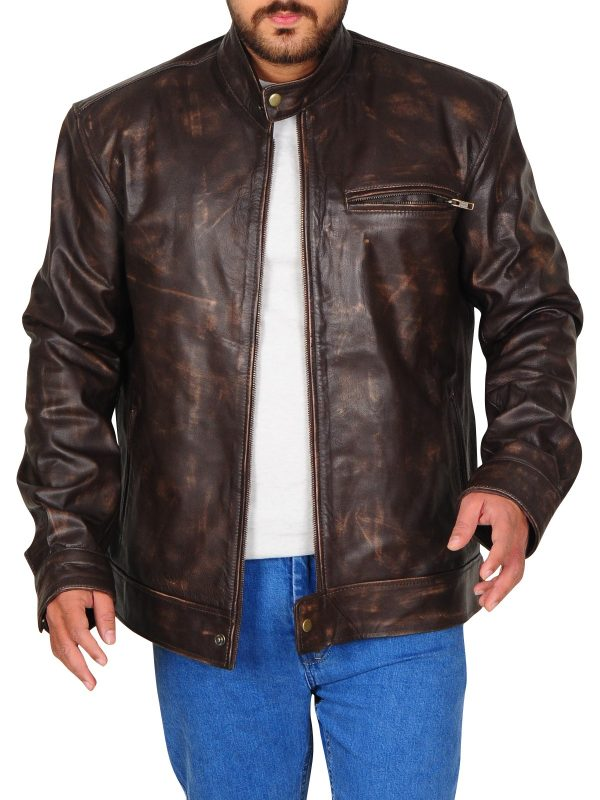 Lucas Till Series Macgyver Leather Jackets